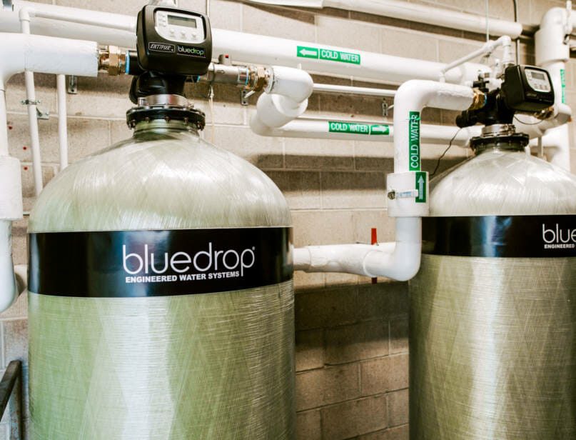 A commercial filtration system.