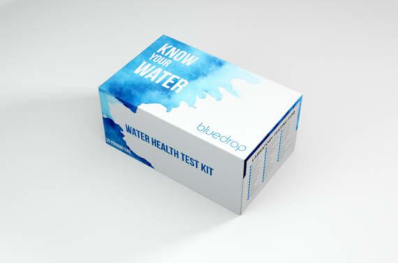 A bluedrop water testing kit.